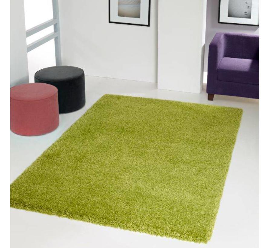 Hoogpolig tapijt groen 30 mm