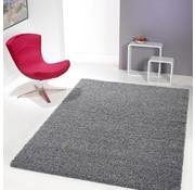 Hoogpolig tapijt grijs 30mm