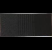 Schoonloopmat 3 in 1, zwart
