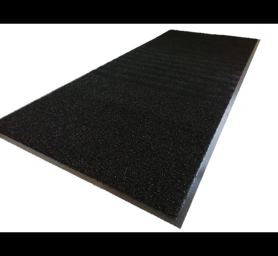 Tapis anti poussière 3 en 1, noir