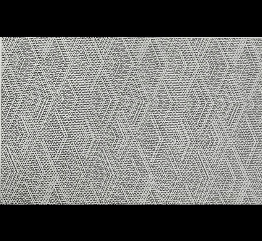 Set de table, dessin en noir et gris