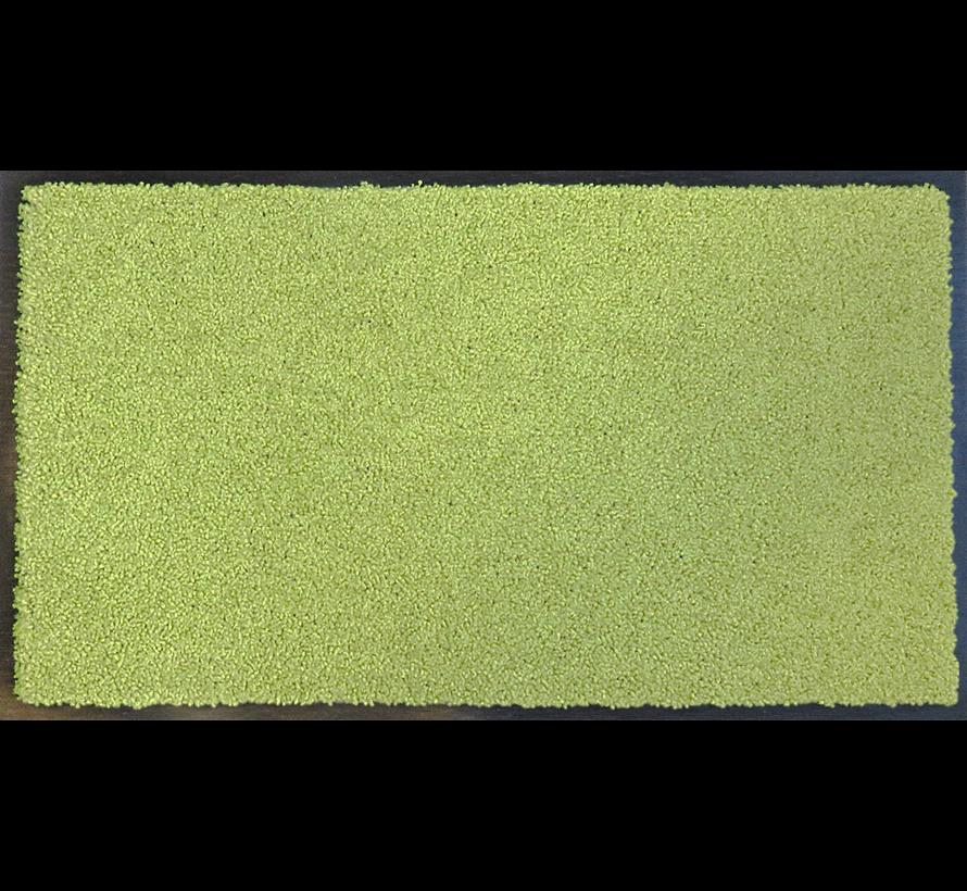 Tapis d'entrée absorbant et écologique vert