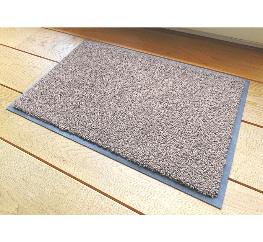 Ecologische droogloopmat taupe