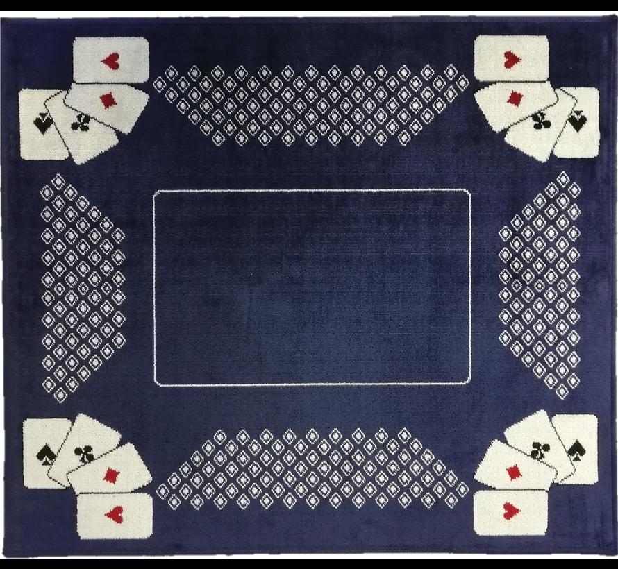 Tapis de carte bleu