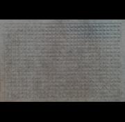 Schrapende naaldvilt deurmat vierkanten antra