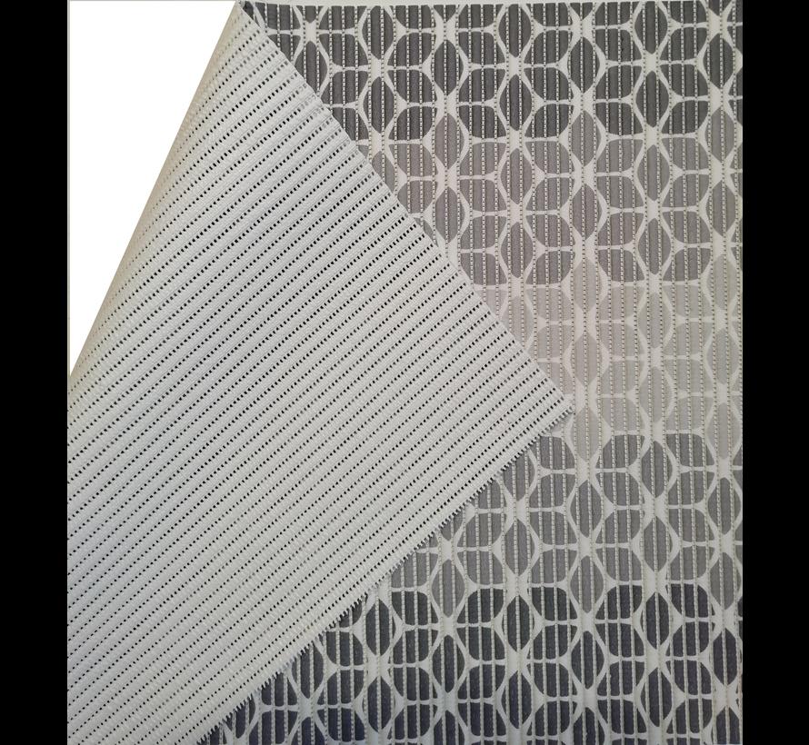 Tapis antidérapants sur mesure, gris retro