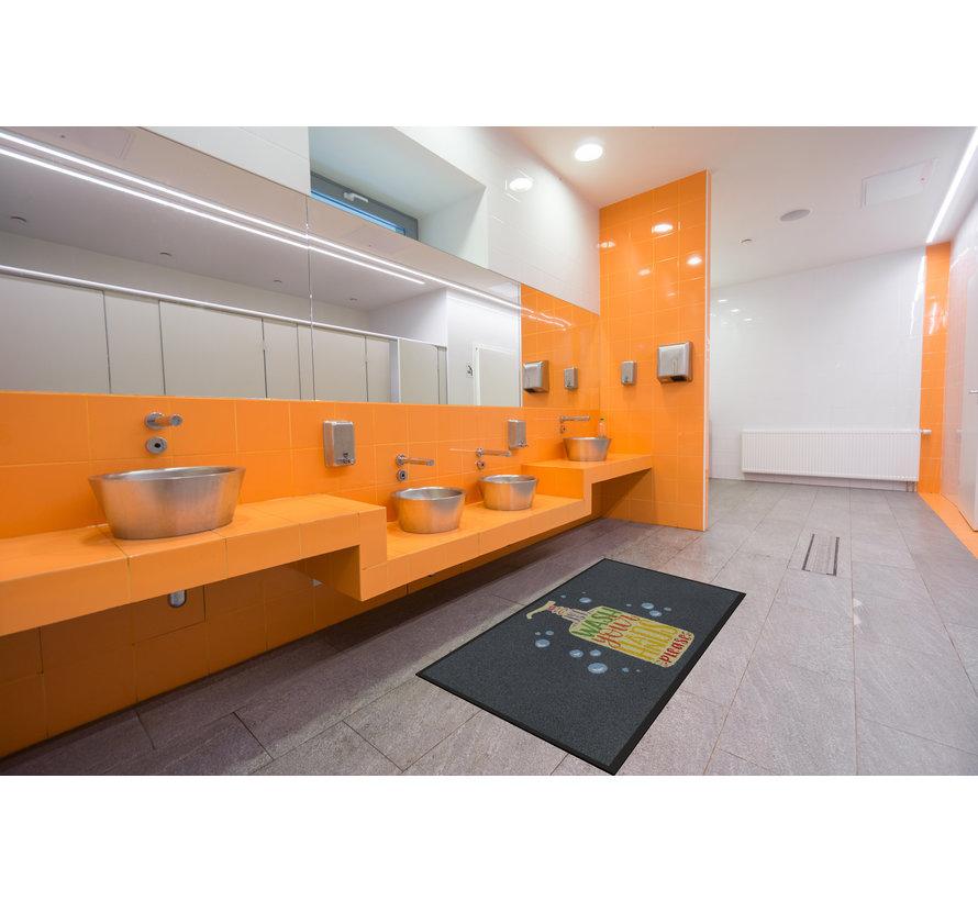 Tapis COVID anti-poussière professionnel, pour l'intérieur,  just wash your hands