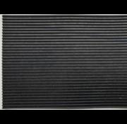 Tapis caoutchouc cannelé fin sur mesure, 3mm