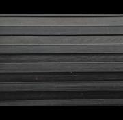 Rubberen loper op maat met breedrib, 6mm