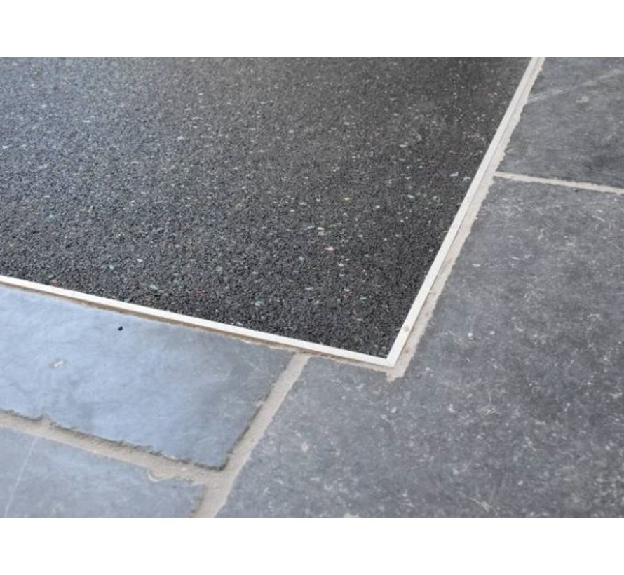 Ondervloer granulaatrubber op maat, 15mm