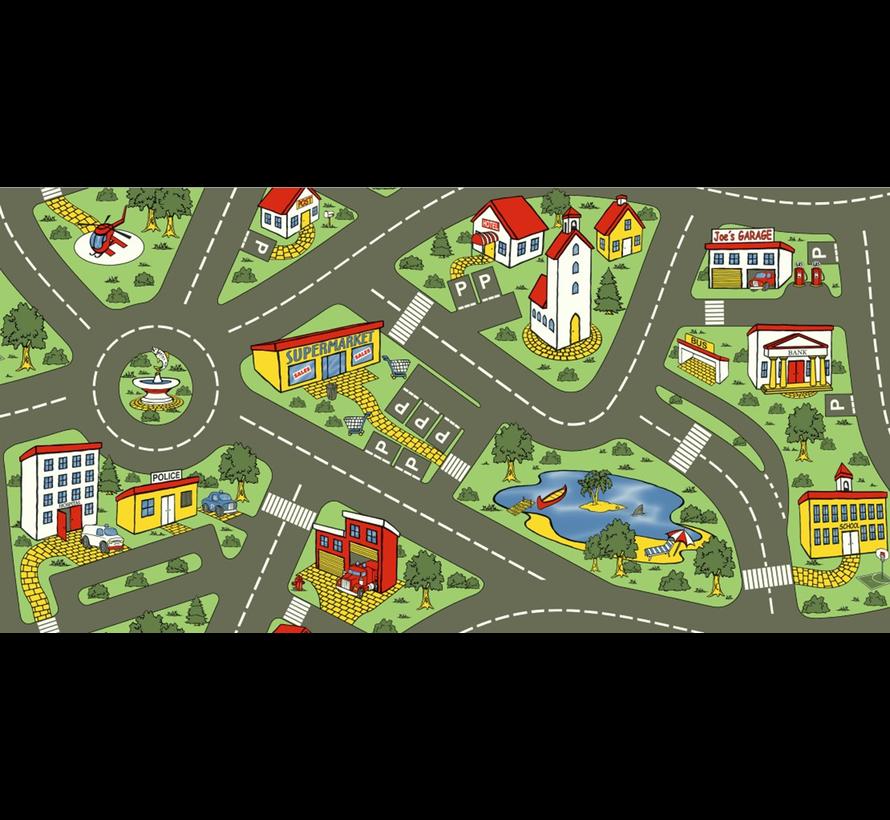 Tapis de jeu hygiénique trafic de ville