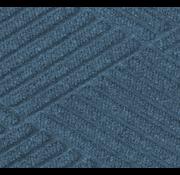 Tapis  professionnel grattant et absorbant en motif de carreaux, pour l'intérieur,  bleu