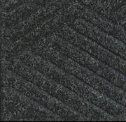 Tapis  professionnel grattant et absorbant en motif de carreaux, pour l'intérieur,  anthracite