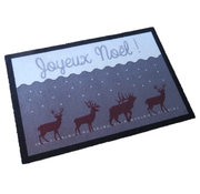 Tapis de Noël imprimé, Joyeux Noël