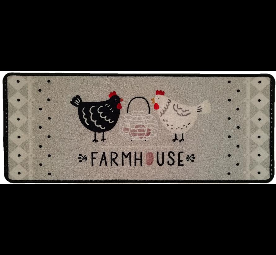 Tapis de cuisine farmhouse