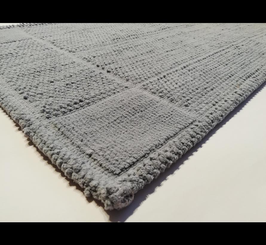 Tapis de bain coton gris