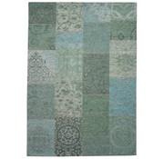 Vintage tapijt blauw