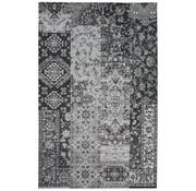 Tapis patchwork vintage gris