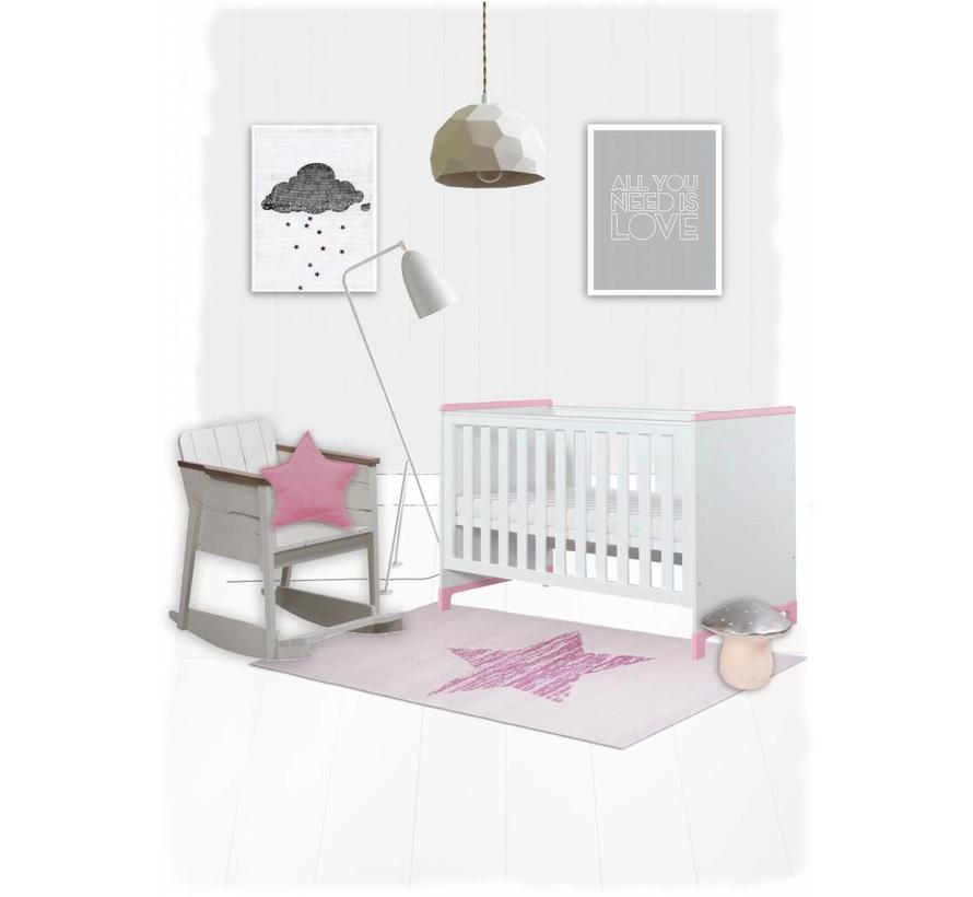 Tapis chambre bébé fille   Onlinemattenshop
