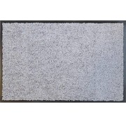 Tapis d'entrée absorbant  gris argent