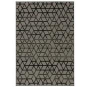 Modern tapijt grijs en antraciet