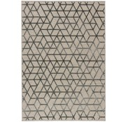 Modern tapijt beige en grijs
