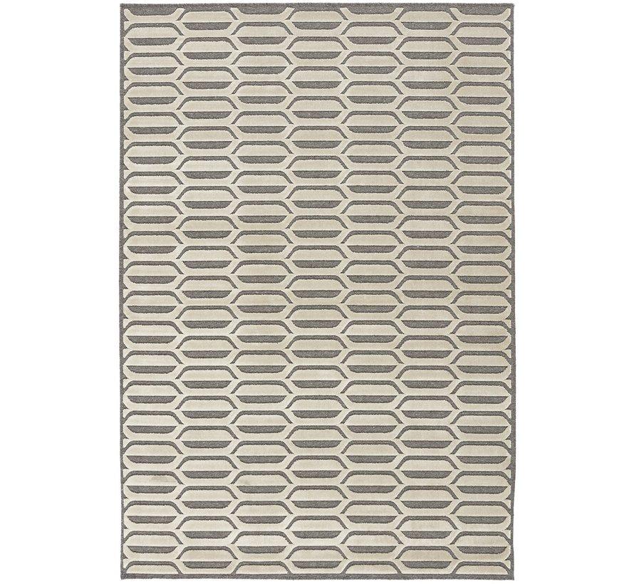 Modern tapijt grijs en beige