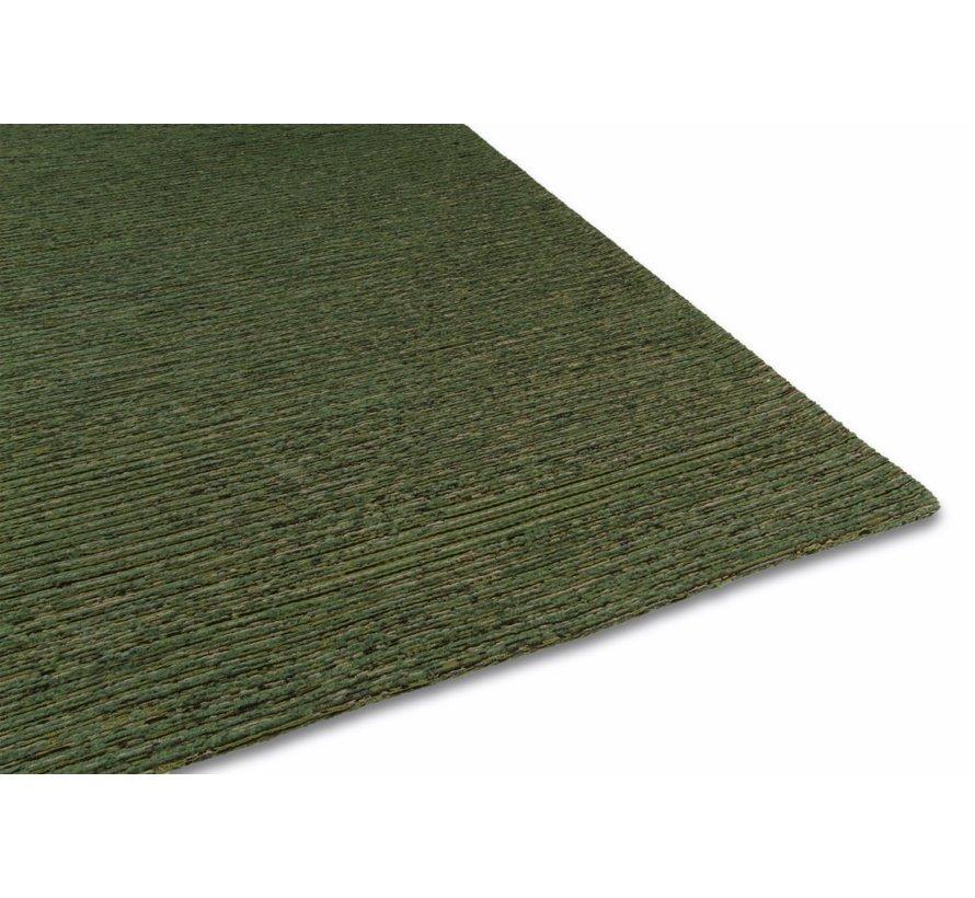 Laagpolig tapijt groen