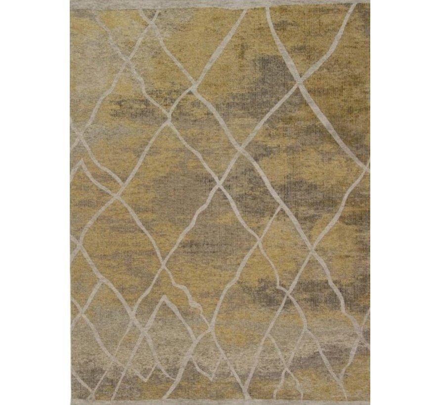 Laagpolig tapijt goud