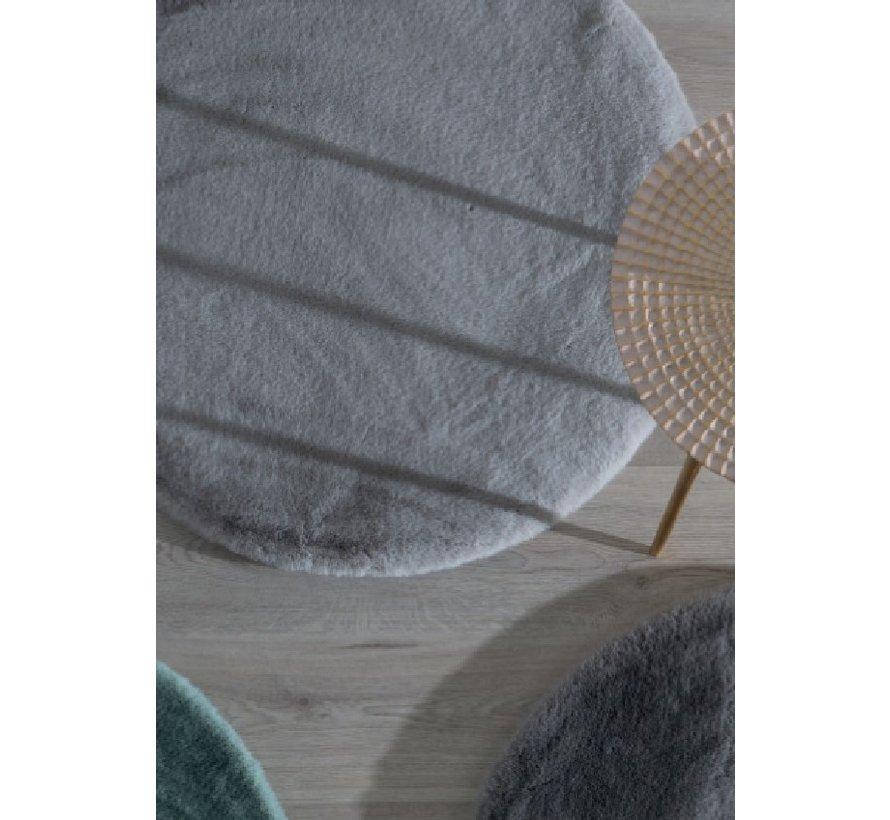 Fluweelzacht tapijt oud roze