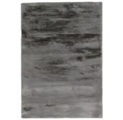 Tapis velouté gris