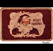Tapis de Noël imprimé avec Père Noël