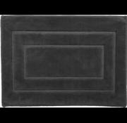 Tapis de bain antidérapant en coton, gris