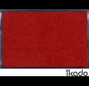 Tapis antipoussière pour l'intérieur rouge