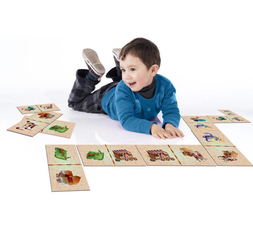 Tapis jeu de dominos