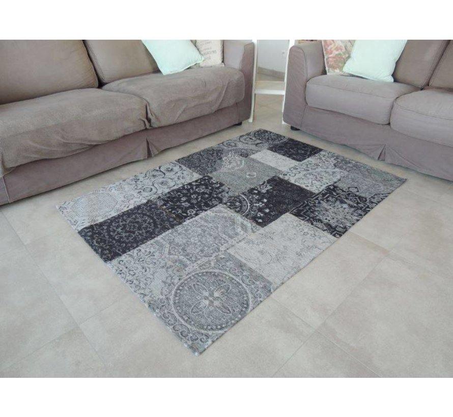 Vintage tapijt grijs