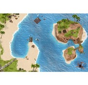 Tapis de jeu pirates