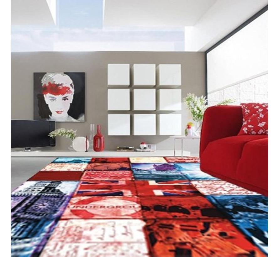 Tapis modern patchwork UK
