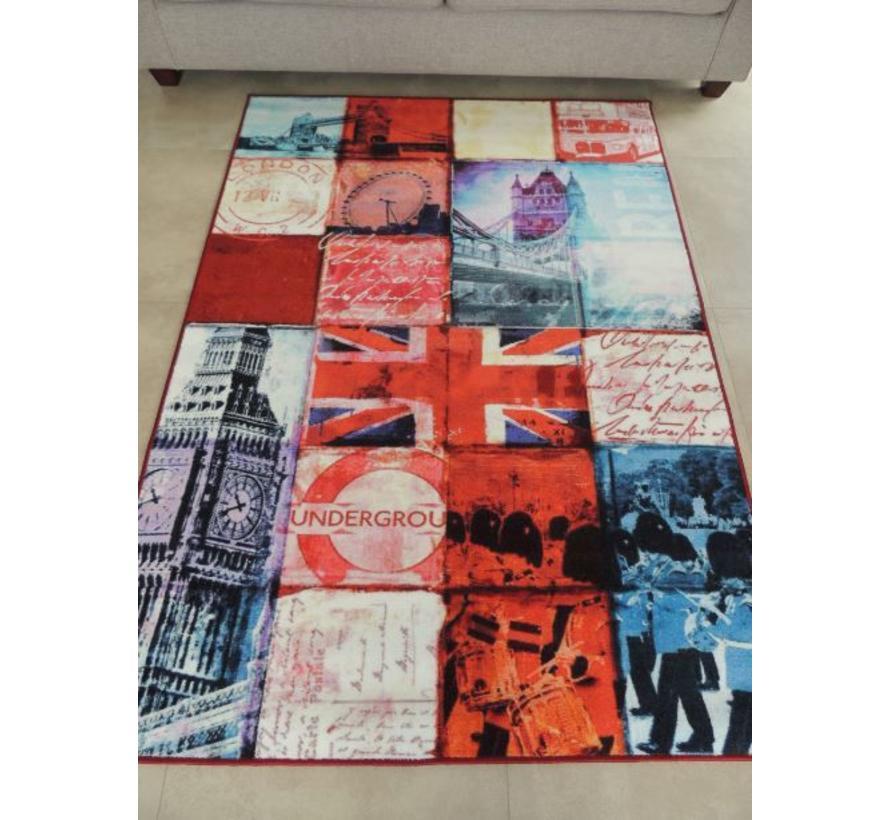 Modern tapijt patchwork