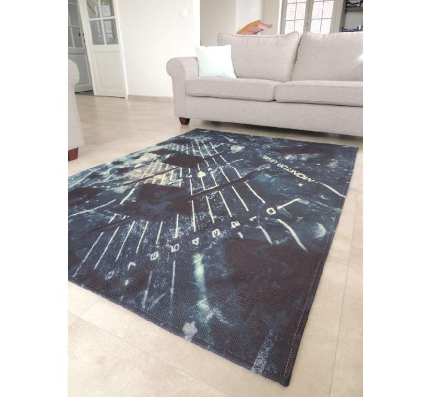 Modern tapijt DJ draaitafel