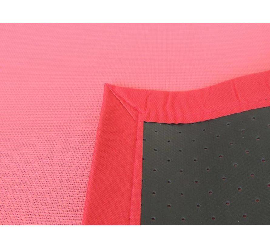 Tapijt buiten rood/roze
