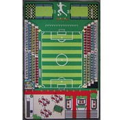 Tapis de jeu football