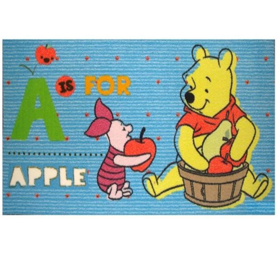 Kindertapijt Winnie the Pooh en Knorretje