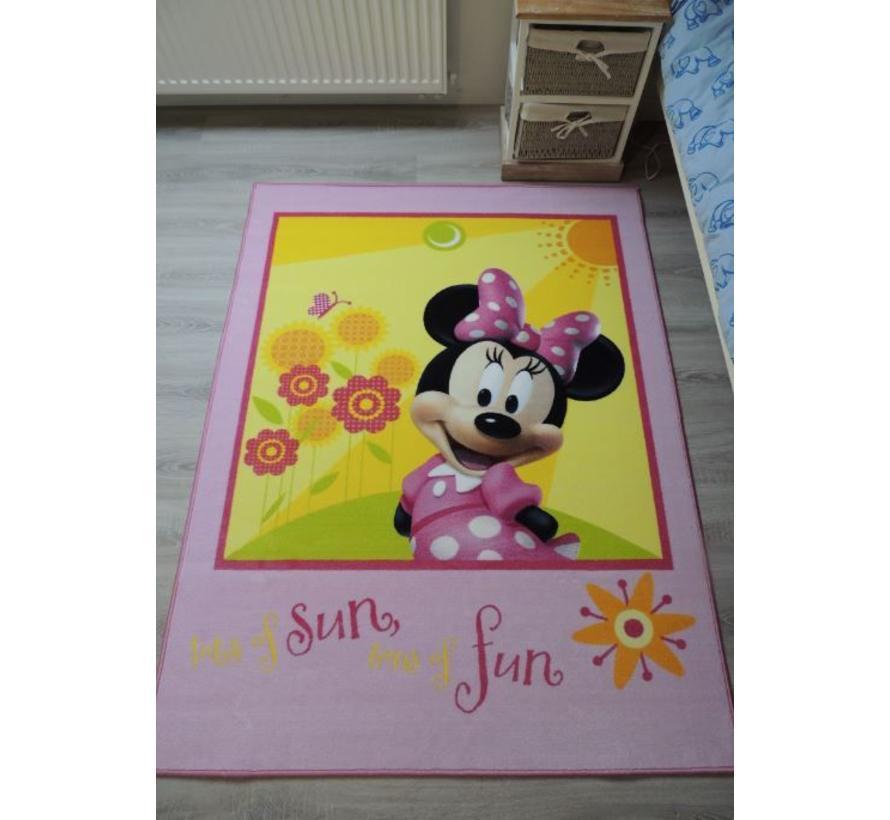 Kindertapijt Minnie Mouse
