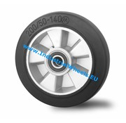 Wheel, Ø 200mm, elastic-tyre, 400KG