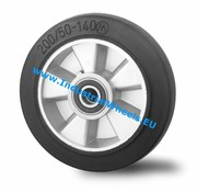 Wheel, Ø 125mm, elastic-tyre, 250KG