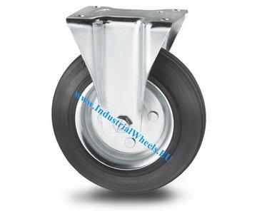 100mmRubber Fixed and Swivel Castor Wheel Trolley Caster