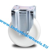 Bockrolle, Ø 200mm, Rad aus Polyamid, 1000KG