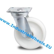 Swivel caster, Ø 125mm, Polyamide wheel, 600KG