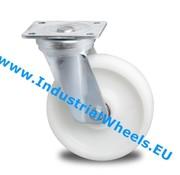 Swivel caster, Ø 125mm, Polyamide wheel, 600KG